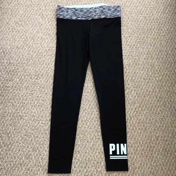 469bc839dfac4 PINK Victoria's Secret Pants   Victorias Secret Pink Yoga Leggings ...